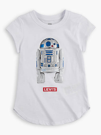 Levi's® X Star Wars R2-D2 Round Hem Tee Teenager