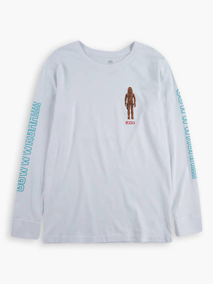 Levi's® X Star Wars Wookie Yell Tee Long Sleeved