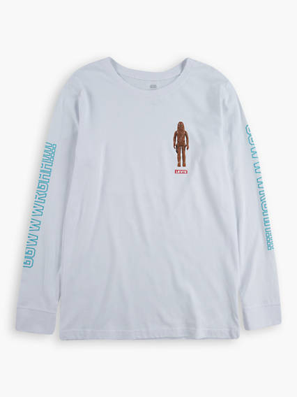 Levi's® X Star Wars Wookie Yell Tee Long Sleeved Teenager