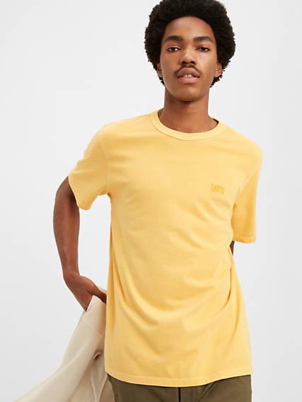 T-shirt ras du cou à logo authentique