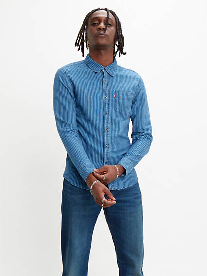 Sunset One Pocket Slim Fit Shirt