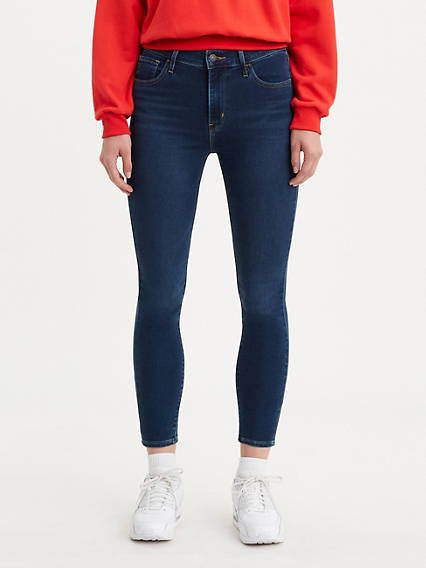 720 High Rise Super Skinny Crop Women's Jeans