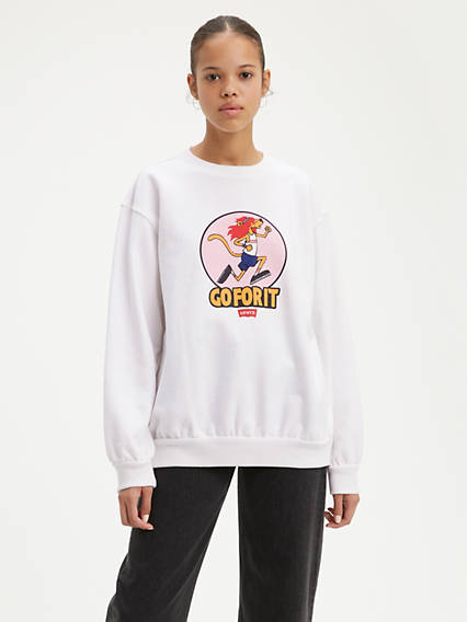 Oversized Crew Sweat
