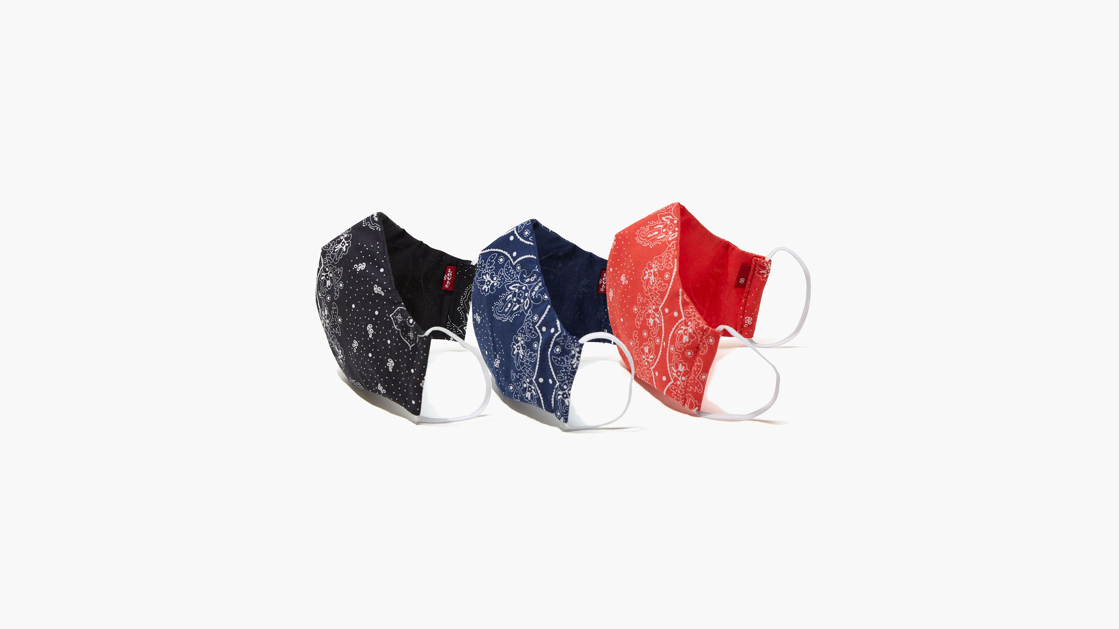 Reusable Reversible Printed Face Mask (3 Pack)